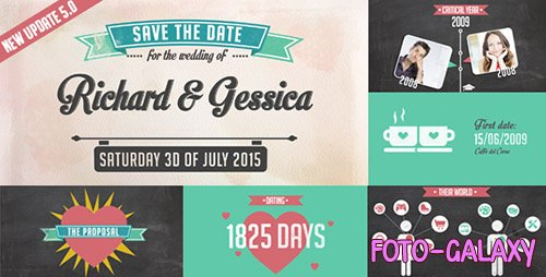 The Story of Us - Wedding Invitation - Project for After Effects (Videohive)