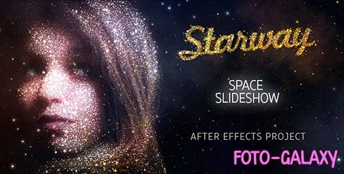 StarWay Space Slideshow - Project for After Effects (Videohive)