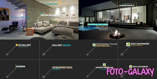 Modern Call Out Titles - Project for After Effects (Videohive)