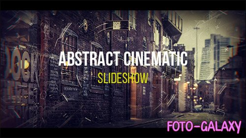 Abstract Cinematic Parallax Opener | Slideshow - Project for After Effects (Videohive)