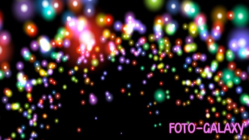 Particle Rainbow Bursts