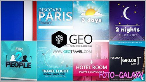 GEO - Travel & Booking Promo Trip Package - Project for After Effects (Videohive)