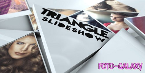 Triangle Slideshow 19374319- Project for After Effects (Videohive)