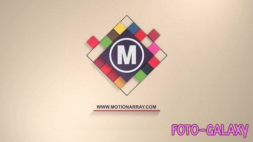 3D Cubes Logo 32716 - After Effects Templates