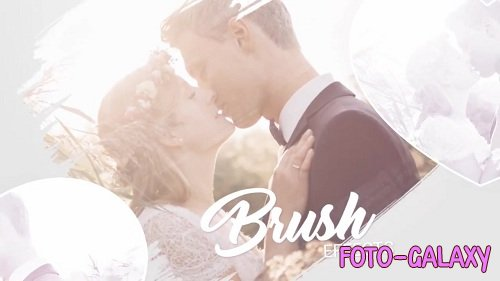 Slideshow - Brush Effects 36184 - Love Story After Effects Templates
