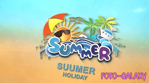 Summer logo 36454 - After Effects Templates
