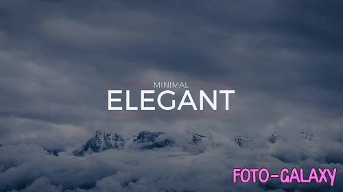 Elegant Minimal Titles 36374 - After Effects Templates