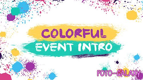 Colorful Event Intro - Project for After Effects (Videohive)