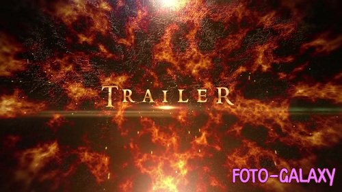 Fire Trailer Titles - After Effects Templates
