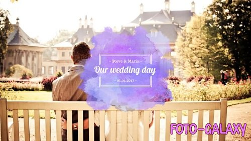 Watercolor Wedding Pack 23509 - After Effects Templates