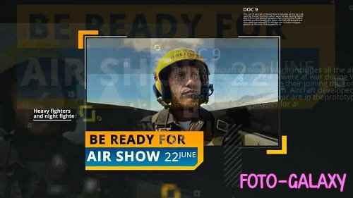 Air Show Opener 24572 - After Effects Templates