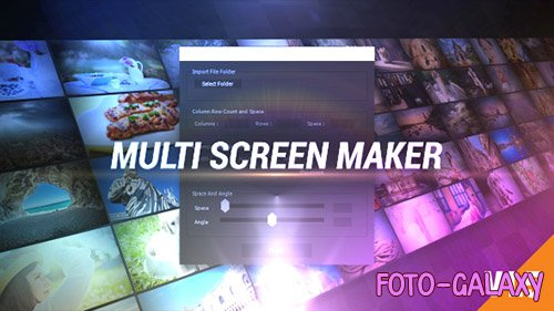 Multi Video Screen Maker Auto - Project for After Effects (Videohive)
