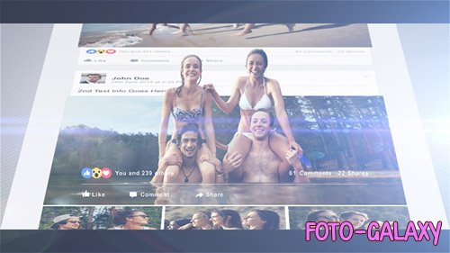 3D Photo Pop Out - Timeline Story - Project for After Effects (Videohive)