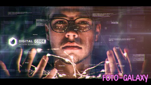 Digital Code Slideshow - Project for After Effects (Videohive)