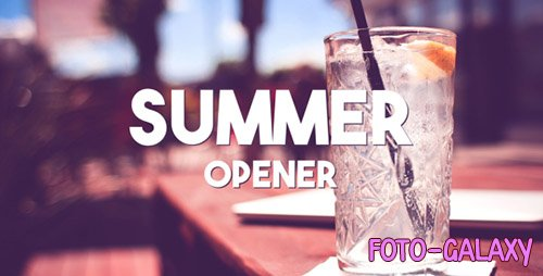 Summer Typography Slides - Project for After Effects (Videohive)