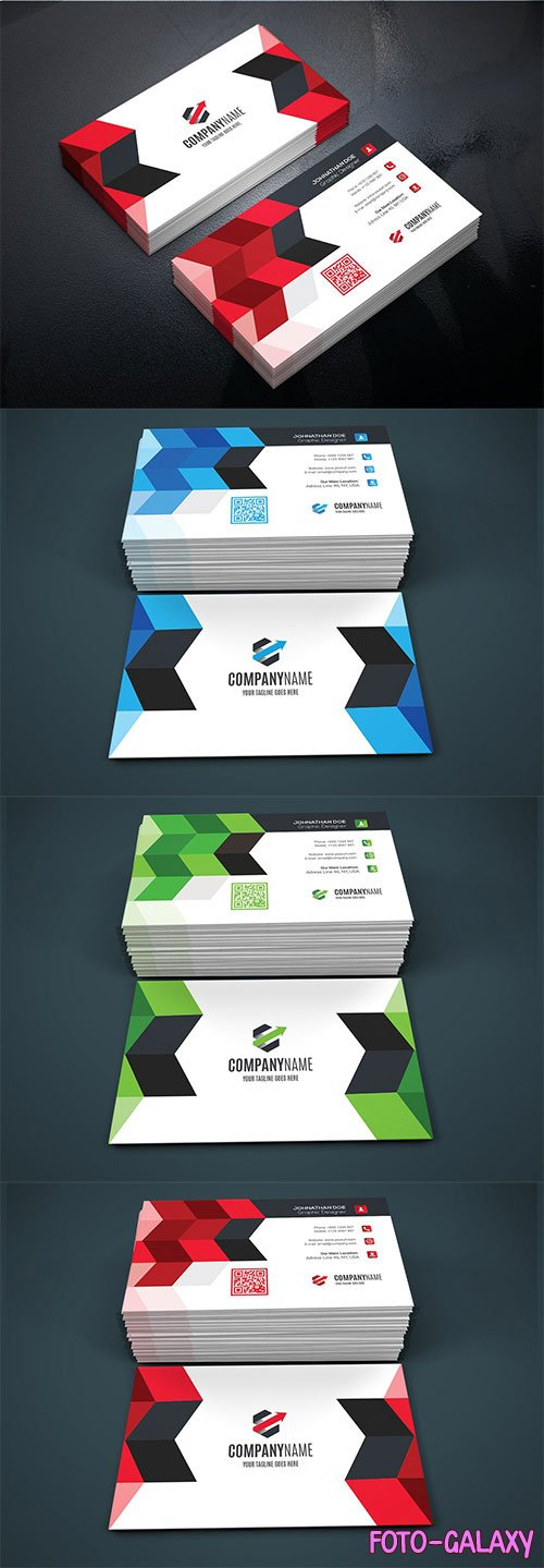 Business Vector Card #8