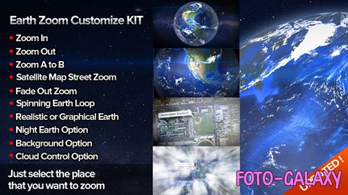 Earth Zoom Customize Kit 4 - Project for After Effects (Videohive)