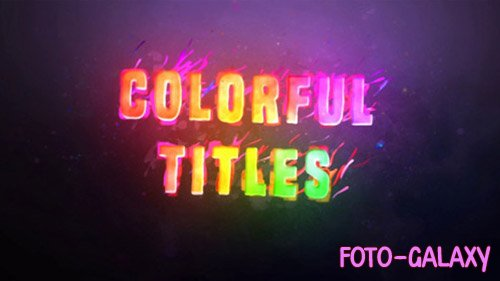 Colorful Titles 20198053 - Project for After Effects (Videohive)