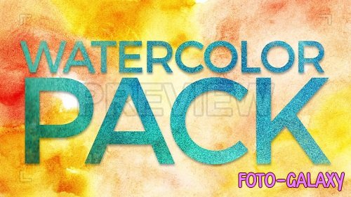 Watercolor Pack 40397 - After Effects Templates