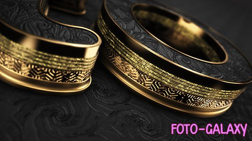 Black Gold Logo V5 - Project for After Effects (Videohive)