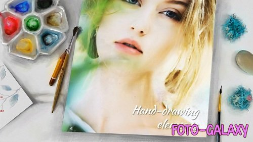 Painting Album Slideshow 37517 - After Effects Templates