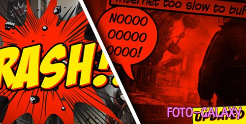 Comic Strip - Project for After Effects (Videohive)