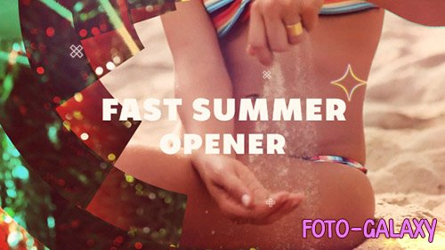 Fast Summer Opener - Project for After Effects (Videohive)