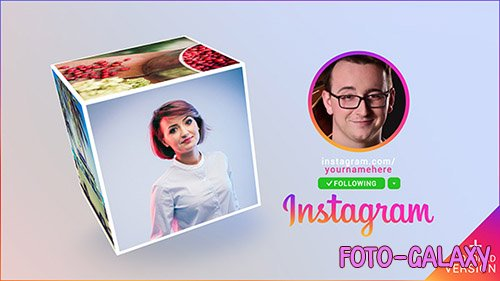 Instagram Promo Cube Gallery - Project for After Effects (Videohive)