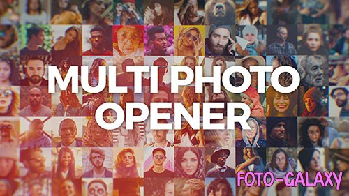 Multi Photo Logo Opener - Project for After Effects (Videohive)