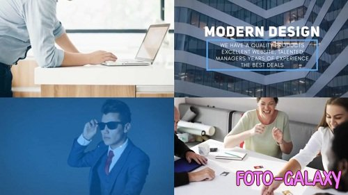 Corporate Business Promo 42044 - After Effects Templates