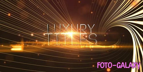 Elegant Luxury Titles - Project for After Effects (Videohive)