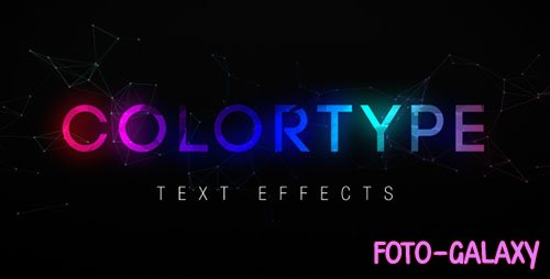 ColorType Text Effects - Project for After Effects (Videohive)