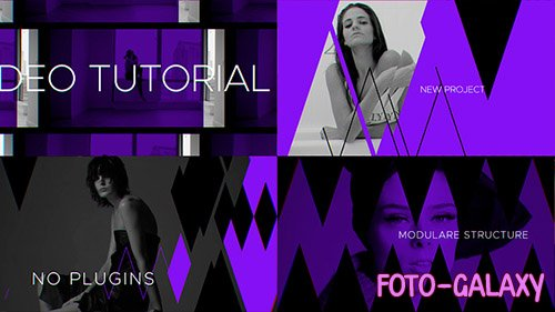 Fashion Broadcast Youtube Package - Project for After Effects (Videohive)