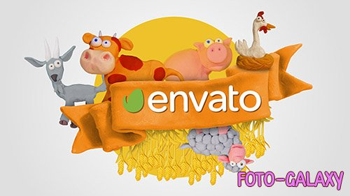Clay Farm Animals - Project for After Effects (Videohive)
