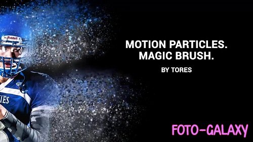 Motion Particle - Magic Brush 42810- After Effects Templates