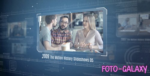 The Motion History Slideshows - Project for After Effects (Videohive)