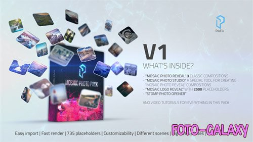 Mosaic Photo Pack - Project for After Effects (Videohive)