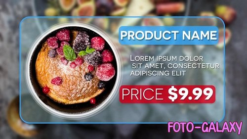 Fast Product Promo 45027 - After Effects Templates