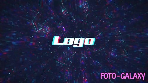 Digital Tunnel Logo 44275 - After Effects Templates