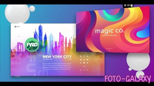 Color Website Presentation 44311 - After Effects Templates