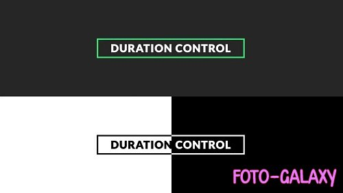 Invert Titles - After Effects Templates