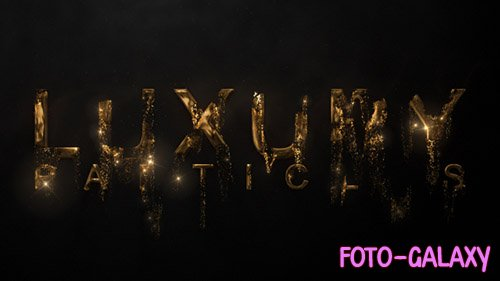 Luxury Particle Logo - Project for After Effects (Videohive)