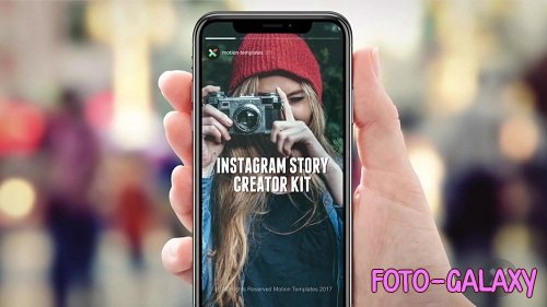 Instagram Story Creator Kit - After Effects Templates
