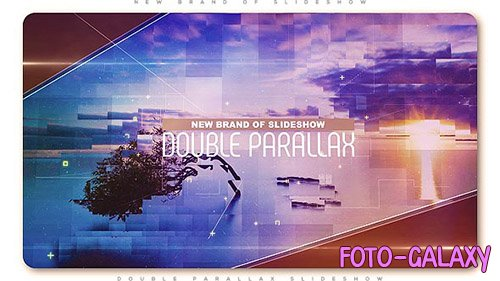 Double Parallax Slideshow - Project for After Effects (Videohive)