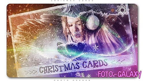 Christmas Cards Photo Opener - Project for After Effects (Videohive)
