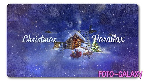 Christmas Parallax Slideshow - Project for After Effects (Videohive)