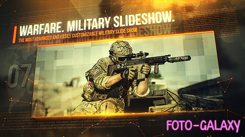 Warfare. Military Slideshow.- Project for After Effects (Videohive)