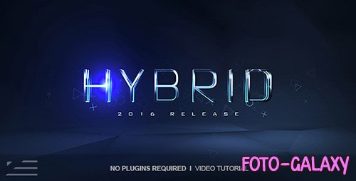 Hybrid Logo Reveal - Project for After Effects (Videohive)