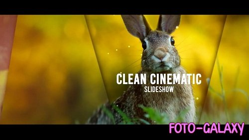 Clean Cinematic Slideshow 51050 - After Effects Templates