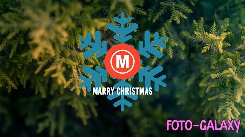 Minimal Christmas Logo 53358 - After Effects Templates
